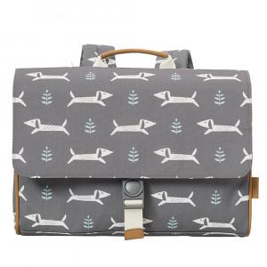 Fresk: Τσάντα ταχυδρόμου πλάτης 34 x 25 x 8 εκ Dachsy FR-FB960-14