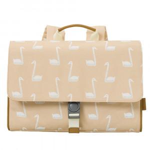Fresk: Τσάντα ταχυδρόμου πλάτης 34 x 25 x 8 εκ Swan σομόν FR-FB960-62