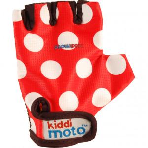 Kiddimoto: Γάντια Red Dotty GLV012
