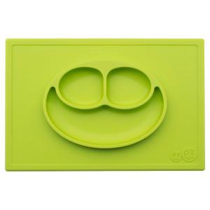 Ezpz Δίσκος και πιάτο σε ένα Happy mat in Lime HM-L381U