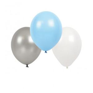 Jabadabado: Μπαλόνια Γαλάζιο-Άσπρο-Γκρί JB-B2001