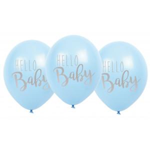 "Jabadabado: Μπαλόνια ""Hello Baby"" Γαλάζια JB-B2007"