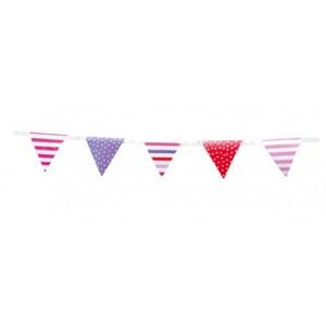 Jabadabado: Πλαστικά σημαιάκια Φούξια-Μώβ-Κόκκινο JB-Z17026