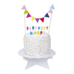 Jabadabado: Κεράκια πολύχρωμα Happy Birthday JB-Z17151