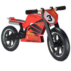 Kiddimoto: Ποδήλατο ισορροπίας Superbike Heroes Joey Dunlop KM323