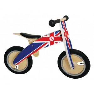 Kiddimoto: Ποδήλατο ισορροπίας KURVE Union Jack KM601
