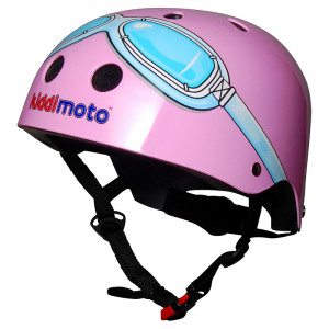 Kiddimoto: Κράνος Pink Goggle KMH021