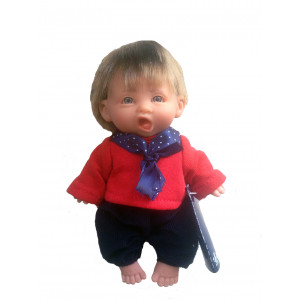 """Magic baby κούκλα """"Gestito red shirt"""" MB10000N"""