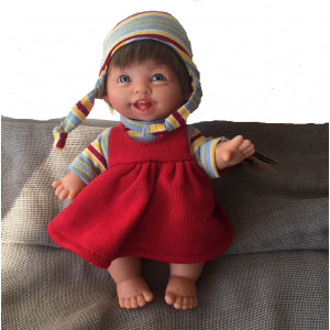 "Magic baby κούκλα ""Gestito Stripe happy"" MB202J"