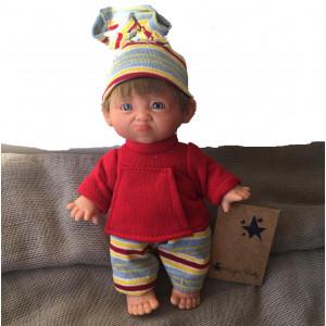 "Magic baby κούκλα ""Gestito Stripe sad"" MB202K"