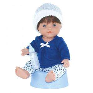 Magic baby κούκλα Μωρό με γιογιο White hat MB30004