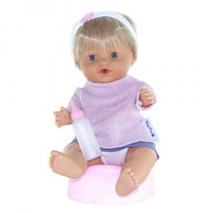 Magic baby κούκλα Μωρό με γιογιο Pink dress MB30006