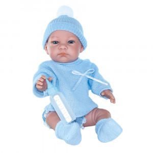 "Magic baby κούκλα ""John με πουλόβερ"" MB32001"