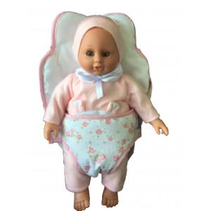 "Magic baby κούκλα ""Lia"" με μάρσιπο MB3500617B"