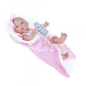 """Magic baby κούκλα """"Jenny με κουβερτούλα"""" MB39007"""