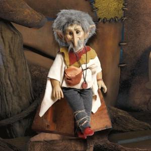 """Magic baby: Χειροποίητη κούκλα Ξωτικό """"Goblin"""" - 38εκ MB40058"""