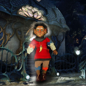 """Magic baby: Χειροποίητη κούκλα Ξωτικό """"Oberón"""" - 38εκ MB40076"""