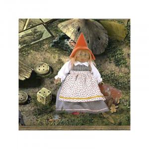 """Magic baby: Χειροποίητη κούκλα Ξωτικό """"Nimrodella"""" - 28εκ MB41025"""