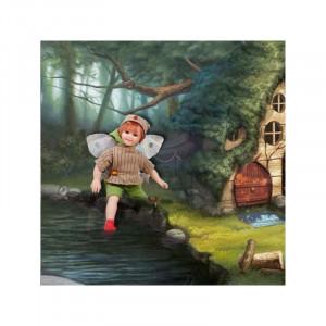 "Magic baby: Χειροποίητη κούκλα Ξωτικό ""Branca"" - 28εκ MB41033"