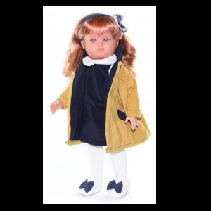 "Magic baby κούκλα ""Nany Jacket yellow"" MB42008"