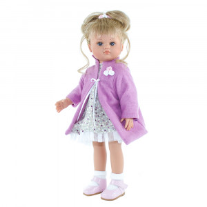 Magic baby κούκλα Nani Blond hair pink coat- 42εκ MB42017