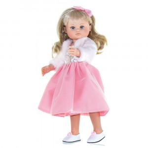 Magic baby κούκλα Nani Blond hair pink white dress- 42εκ MB42018