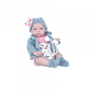 "Magic baby κούκλα ""Marina Grey jacket"" MB46121"