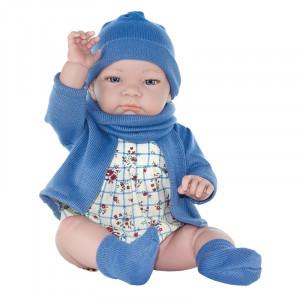 "Magic baby κούκλα ""John blue hat"" MB46122"