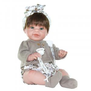 Magic baby κούκλα Paula Light Brown MB46128