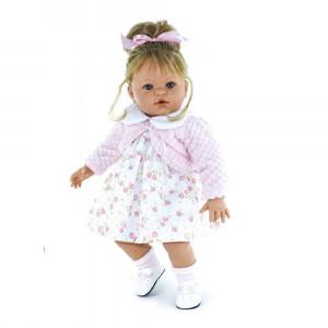 "Magic baby κούκλα που γελάει ""Susy Pink dress"" MB47012BC"
