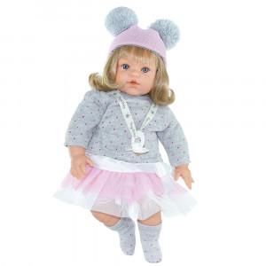 "Magic baby κούκλα που γελάει ""Susy Pink hat"" MB47020"