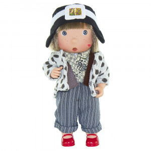 "Magic baby κούκλα ""Tilina"" - Διάσημες γυναίκες- Amelia Mary MB7109"
