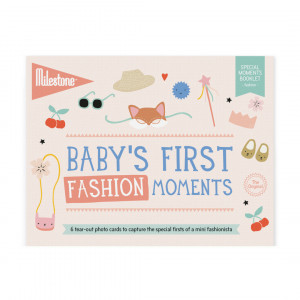 Milestone: φωτο-κάρτες First Fashion Moments MLSBFA-SET-ENG