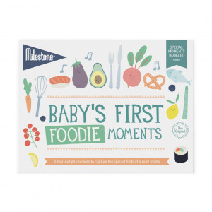 Milestone: Φωτο-κάρτες First Foodie Moments MLSBFO-SET-ENG