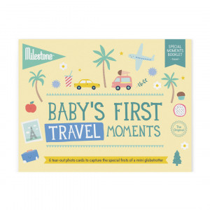 Milestone: Φωτο-κάρτες First Travel Moments MLSBT-SET-ENG