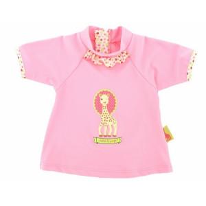 Mayoparasol Μπλούζα με UV προστασία κοντό μανίκι Sophie la Girafe 6 μηνών MP40925