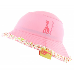 Mayoparasol Ρόζ Καπέλο με UV προστασία για κορίτσι Sophie la Girafe 0-6 μηνών MP40949