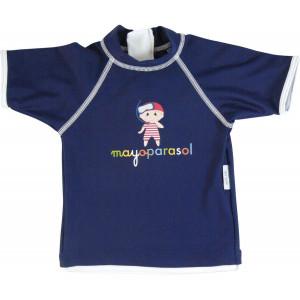 Mayoparasol Μπλούζα με UV προστασία κοντό μανίκι Pirate Marine 18 μηνών MP41676