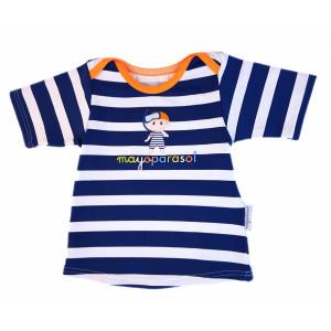 Mayoparasol Μπλούζα με UV προστασία κοντό μανίκι Marinou Fluo 18 μηνών MP42837