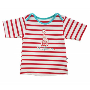 Mayoparasol Μπλούζα με UV προστασία κντό μανίκι Sophie la Girafe Saint Malo 18 μηνών MP42905