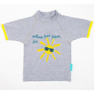 Mayoparasol Μπλούζα με UV προστασία κοντό μανίκι Meme pas peur 12 μηνών MP43114