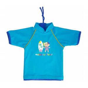 Mayoparasol Μπλούζα με UV προστασία κοντό μανίκι Mini Surfeur 18 μηνών MP43124
