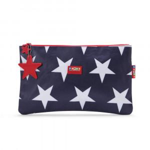 Penny Scallan: Πολυχρηστικό πορτοφόλι Navy Star MPWNAS
