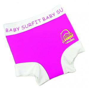 Jakabel Πάνα μαγιό ροζ-άσπρο Nappi-wrap NWPW
