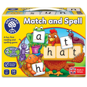 Orchard Toys Match and Spell Game ORCH004