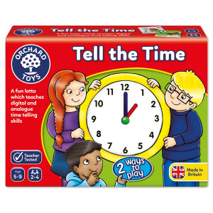 Orchard Toys Tell the Time Game ORCH015