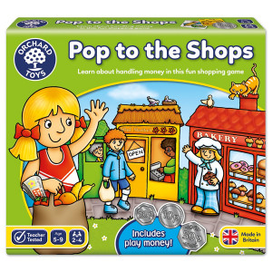 Orchard Toys Pop to the Shops Board Game ORCH030