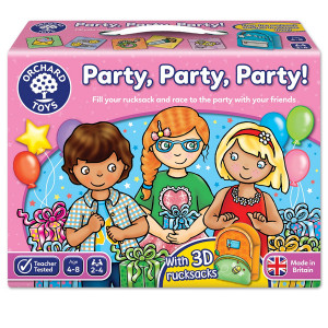 Orchard Toys Party, Party, Party Board Game ORCH042