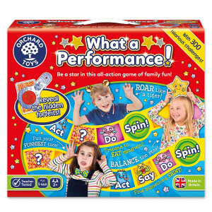 Orchard Toys What a Performance Board Game ORCH047