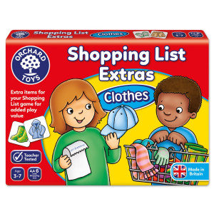 Orchard Toys Shopping List Extras - Clothes ORCH091